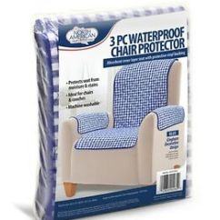 Waterproof Chair Covers For Recliners Narrow Accent 3pc Protector Cover Slip Stain Spill Proof Washable Image Is Loading