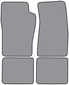 1997-2001 Mercury Mountaineer Cutpile Carpet Floor Mat 4pc