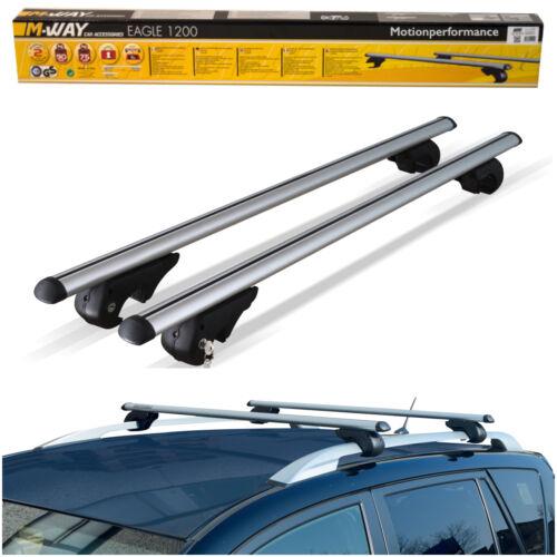car touring travel accessories m way lockable aluminium 90kg car roof rack rail bars for vw passat estate 11 14 dr lowinski