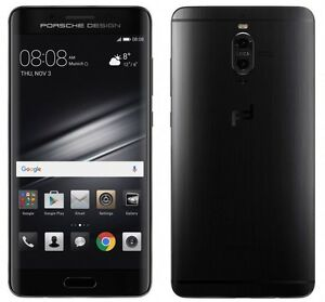 Huawei Mate 9 Porsche Design Dual SIM 4G 256GB 6GB RAM Factory Unlocked - Black