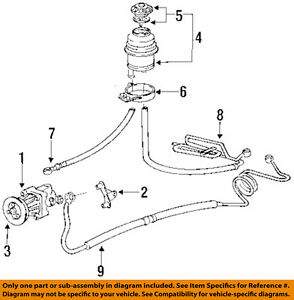 bmw e36 vacuum hose diagram 2004 nissan quest engine 92 325i great installation of wiring oem 95 power steering suction 32411138419 ebay rh com e46 line