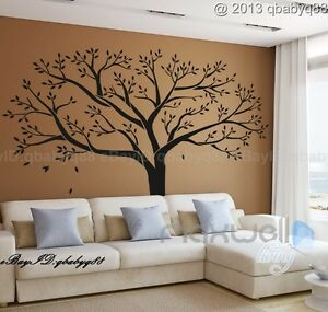 giant family tree wall sticker vinyl art home decals room decor