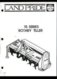 Land Pride 15 Series Rotary Tiller Original Factory Parts