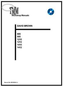 David BrownTMM 885 995 1210 1212 1410 1412 Workshop Manual