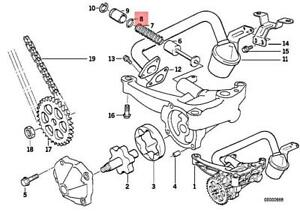 BMW Genuine Engine O-Ring 17.0X1.8MM E34 E36 E39 E46 E53