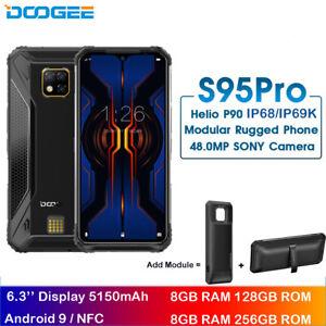 DOOGEE S95 Pro 8GB 256GB IP68/IP69K 6.3'' 5150mAh Helio P90 Octa Core Android 9