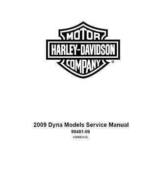 Harley-Davidson Dyna Models Service Repair Maintenance