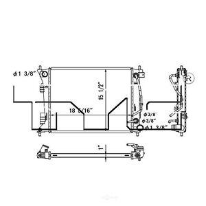 Radiator-Auto Trans, Turbo TYC 13415 fits 2013 Hyundai