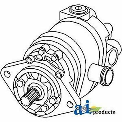 79016058 Hydraulic Pump Fits Allis Chalmers 7000 Replaces