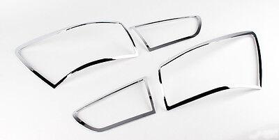 Chrome Rear Tail Light Lamp Molding Cover 4P For 2012 Kia
