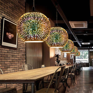 Image Is Loading Modern Hanging Colored Glass Ceiling Lights Pendant