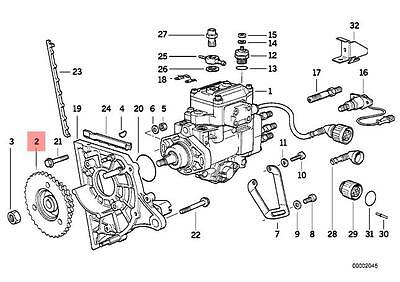 Genuine BMW E34 E36 E38 E39 Compact Sedan Wagon Sprocket