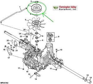 John Deere D110 D120 D130 D140 D150 D160 D170 Transmission