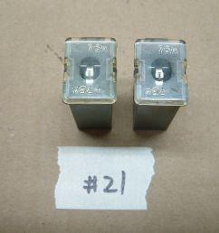 two fuses nissan sentra 95 99 infiniti g20 91 96 fl75a 75a 75amp fuse [ 1280 x 960 Pixel ]