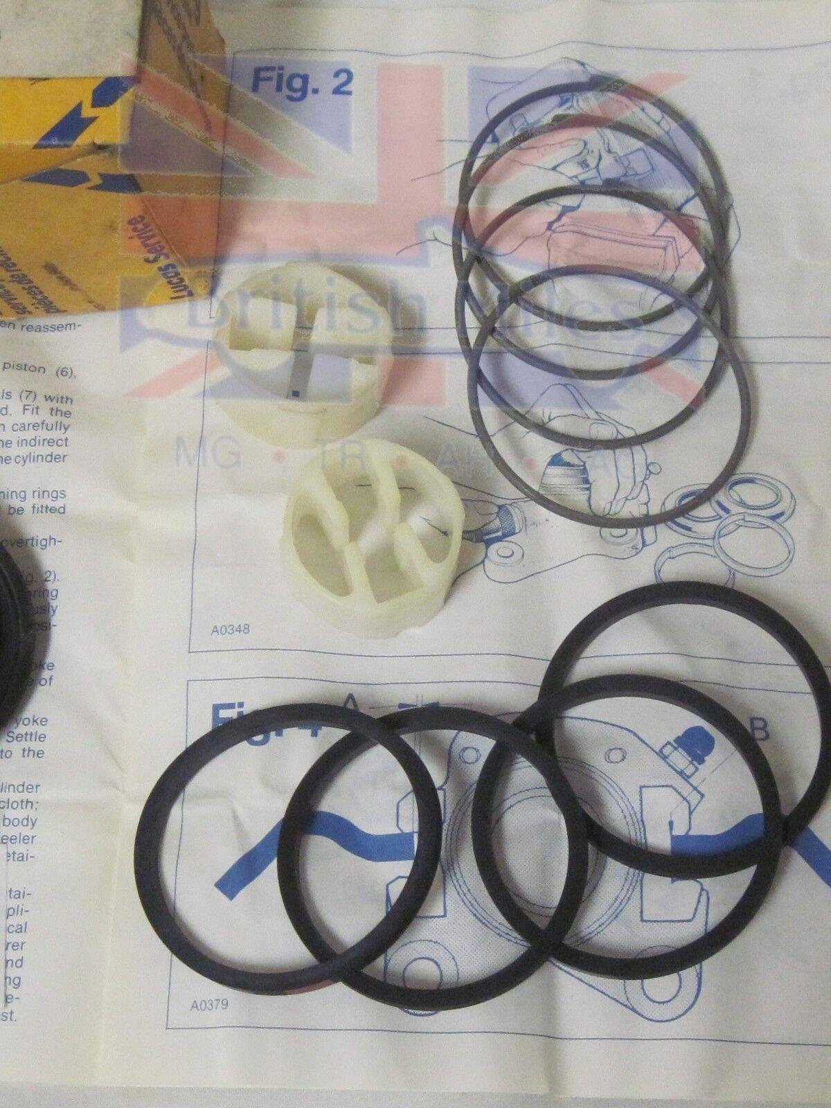 hight resolution of nos girling brake caliper repair kit audi fox vw rabbit scirocco sp4018 for sale online ebay