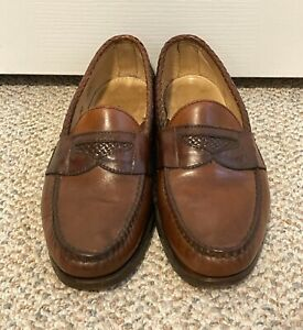 Men's Foot-Joy Genuine Handsewns Made in USA 8.5D Dress Shoes | eBay
