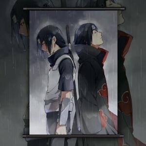 details zu naruto itachi uchiha anime manga wallscroll poster kunstdrucke bider drucke