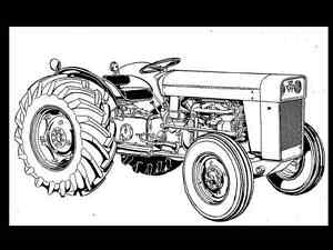MASSEY FERGUSON TO-35 MF 202 204 Tractor Parts Manual