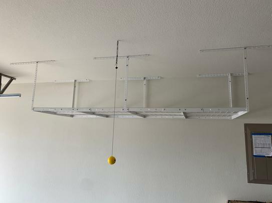 Monsterrax 3x8 Overhead Garage Storage Rack 18 33 For Sale Online Ebay