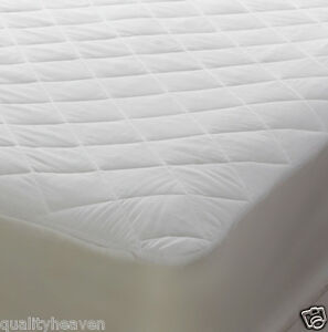 Image Is Loading Quilted Bunk Bed Mattress Protector Cover Ed New
