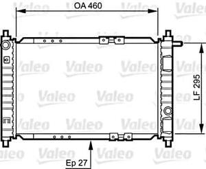 VALEO Engine Cooling Radiator 734250 Fits DAEWOO Matiz
