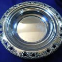 REED & BARTON FLORENTINE LACE STERLING SILVER CANDY/TRINKET DISH #785 – M