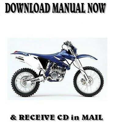 Yamaha WR250FR factory owner's shop service repair manual