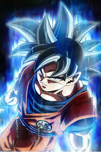 Dragon Ball Super Goku Ultra Instinct : dragon, super, ultra, instinct, Dragon, Super, Poster, Ultra, Instinct, 12inx18in, Shipping