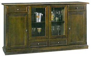 Mobile basso con ante e cassettiin arte povera legno massello credenzasala  eBay