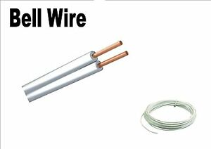 BELL WIRE FLAT CABLE BELL CHIME FLEXIBLE CABLE 2 CORE 2