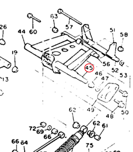 45% Off Yamaha 1993 Venture GT Shaft 2 Track Suspension