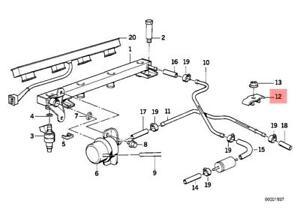Genuine Fuel Pipe Bracket BMW M5 Z3 E30 E32 E34 E36 316i