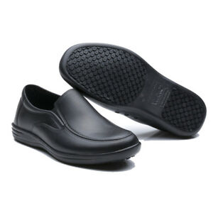 Black Non Slip Oil Resistant Shoes