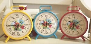 PIONEER WOMAN FEBRUARY 2020 SPRING CLOCK~FLORAL~PICK~RED ...