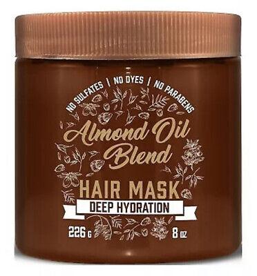 Aveeno Almond Oil Blend Hair Mask Deep Hydration 8 oz FREE ...