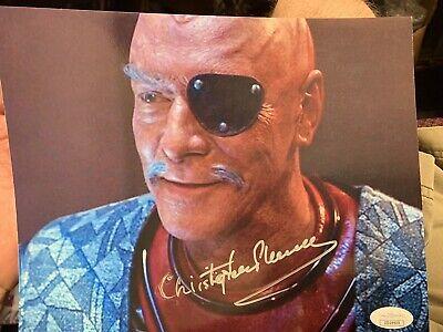 JSA certified Christopher Plummer Star Trek signed photo ...