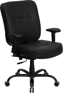big and tall computer chairs hon ignition fabric chair leather desk office with arms 400 lbs image is loading