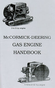 International McCormick Deering Type M Gas Engine Motor