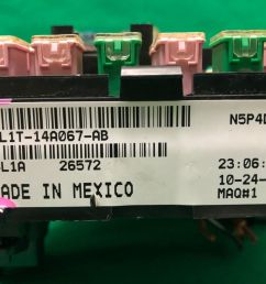 4l1t 14a067 ab 2003 2005 ford expedition lincoln navigator fuse relay block for sale online ebay [ 1600 x 1200 Pixel ]