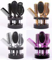 5 pieces women hair brush massage