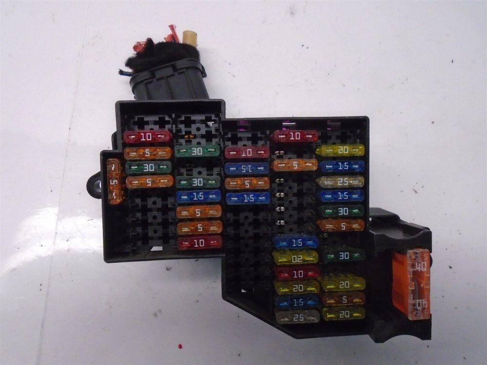 medium resolution of volkswagen 2004 vw touareg v8 4 2 fuse box relay oem 7l0941828 ebay
