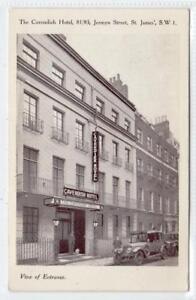 Details About The Cavendish Hotel Jermyn Street St James London Postcard C37094
