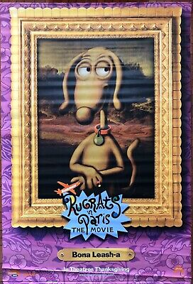 Nickelodeon Paris : nickelodeon, paris, Nickelodeon, Rugrats, Paris, Spike, Movie, Banner, Vinyl, Original