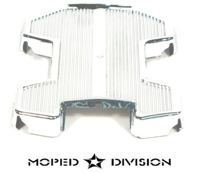 PUCH MOPED CHROME PLASTIC FOOT REST PANEL / FAIRING