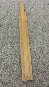 Wood Center Mount Drawer Slide