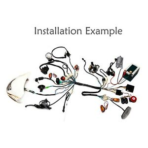 Full electric Wiring Harness Coil Ignition CDI For Quad Go