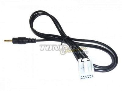 AUX Line In Klinke MP3 Adapter für Citroen Radio Blaupunkt