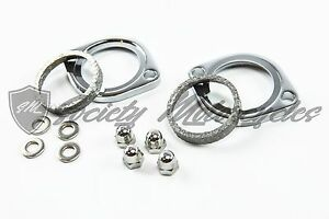 Harley Davidson Road King Exhaust Flange Install Kit For