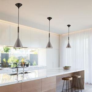 details about kitchen pendant light grey chandelier lighting bar lamp room led ceiling lights