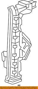 Dodge CHRYSLER OEM 13-16 Dart Glass-Rear Door-Lift Plate